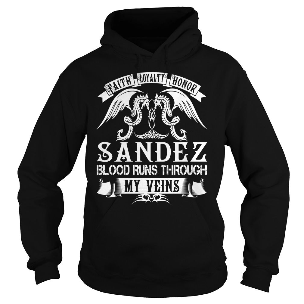 SANDEZ Blood - SANDEZ Last Name, Surname T-Shirt