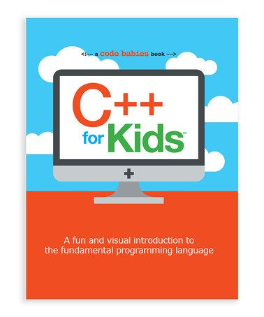Love this C++ for Kids Board Book on #zulily! #zulilyfinds. Introduce your youngster to the basics of computing early with this C++ board book for the coding novice.
