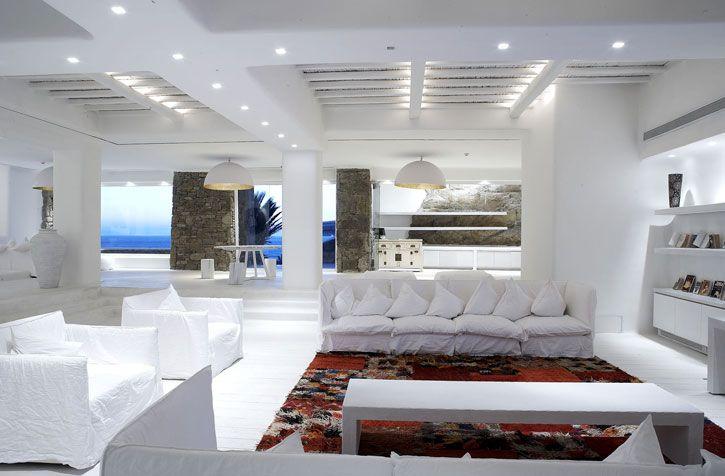 Architecture homes unique luxury hotel interior design  cavo tagoo also rh pinterest