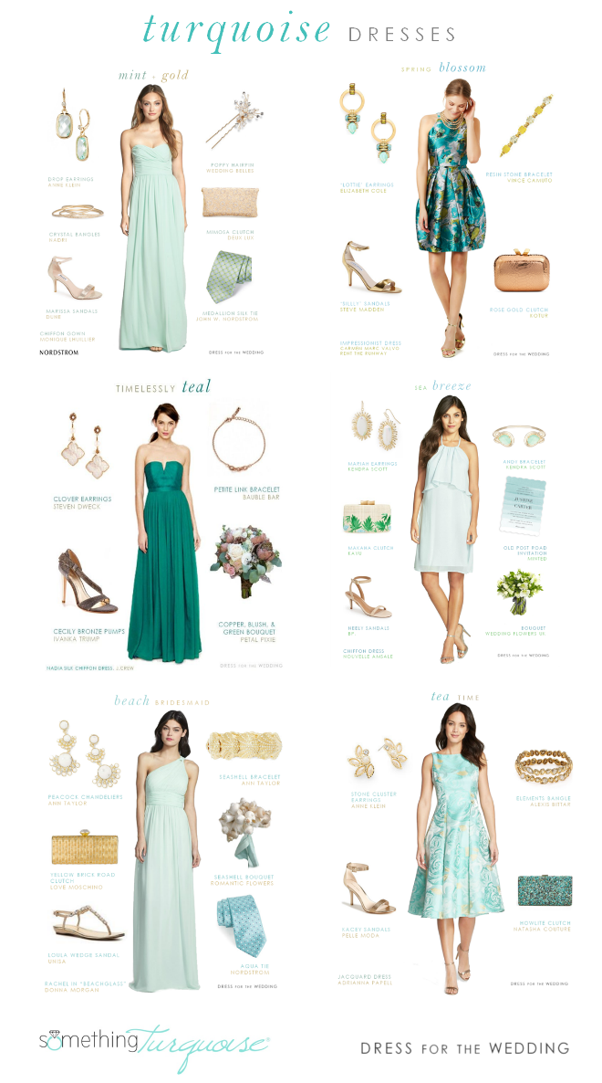 Turquoise Wedding Style Ideas Dress For The Wedding Turquoise Wedding Wedding Attire Guest Sage Green Bridesmaid Dress