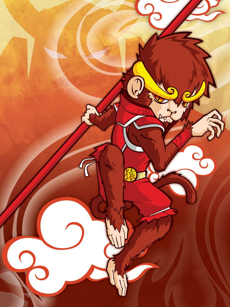 red monkey by on DeviantArt