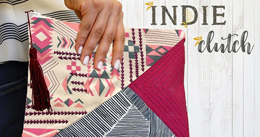 The Indie Clutch   Sewing Projects - Bags and Purses   Pinterest