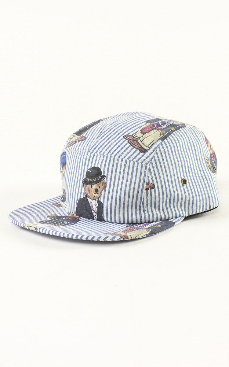 531d640bace Polo Bear 5 Panel Strapback Hat – F As In Frank Vintage