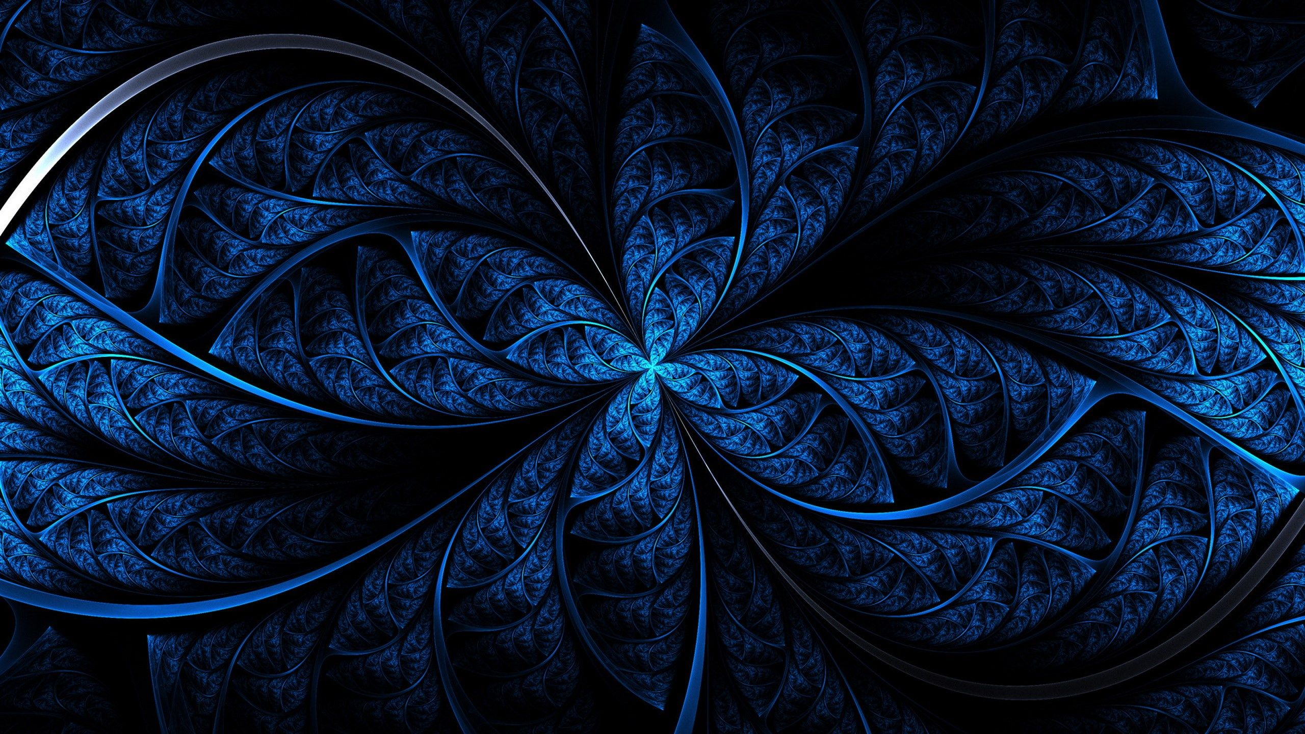 2017 03 23 Fractal Background Desktop Free 1948650 Blauw