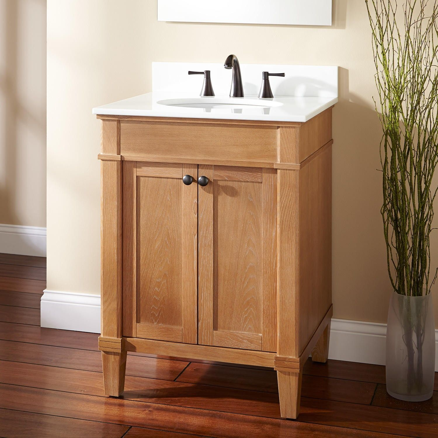 Marilla Vanity For Undermount Sink  Leave Natural Or Paint?