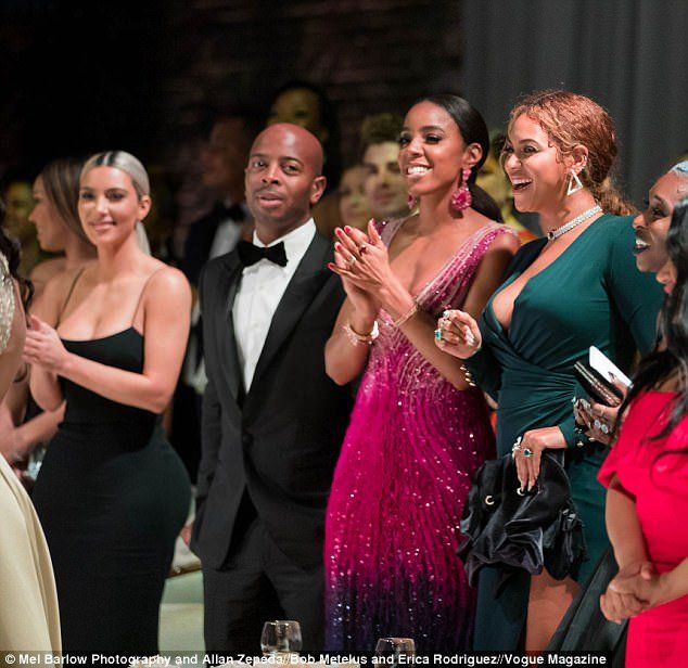 Kim K And Beyonce Were Reportedly Cordial To One Another At Serena Williams Wedding In New Orleans Serena Williams Wedding Kim Kardashian Beyonce