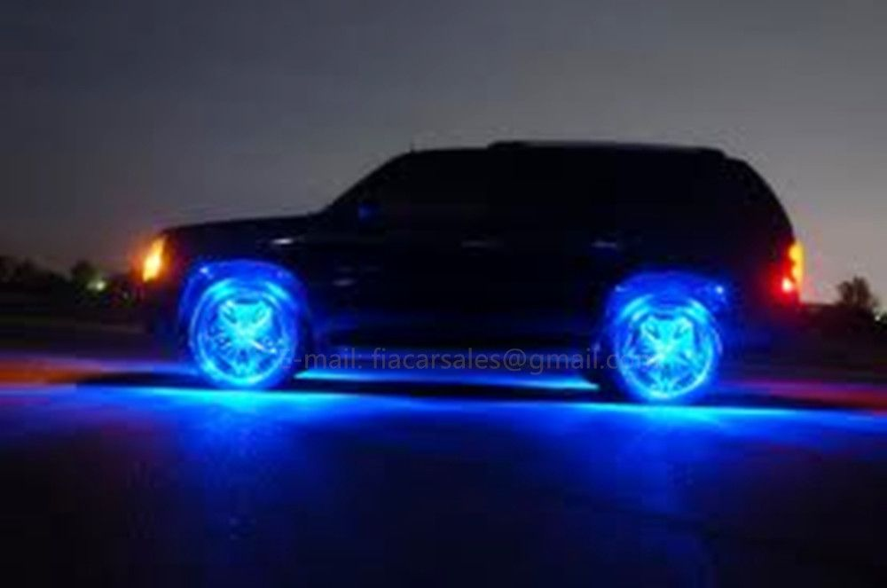 Fialights 15 5 Ip68 Double Row Dream Chasing Flowing Led Wheel Lights X4pcs Set Lights Rim Light Wheel