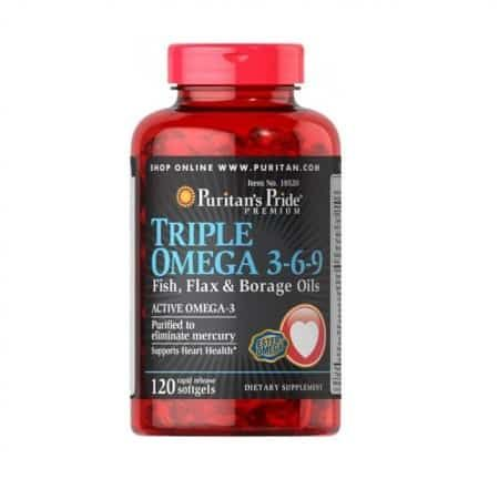 تريبل اوميجا Triple Omega Borage Oil Omega 3 Diet Pills