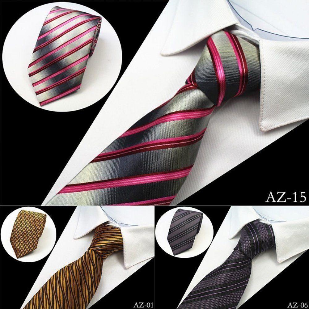 NECK TIE HIGH QUALITY Mens Patterned Wedding Birthday Necktie Many Designs