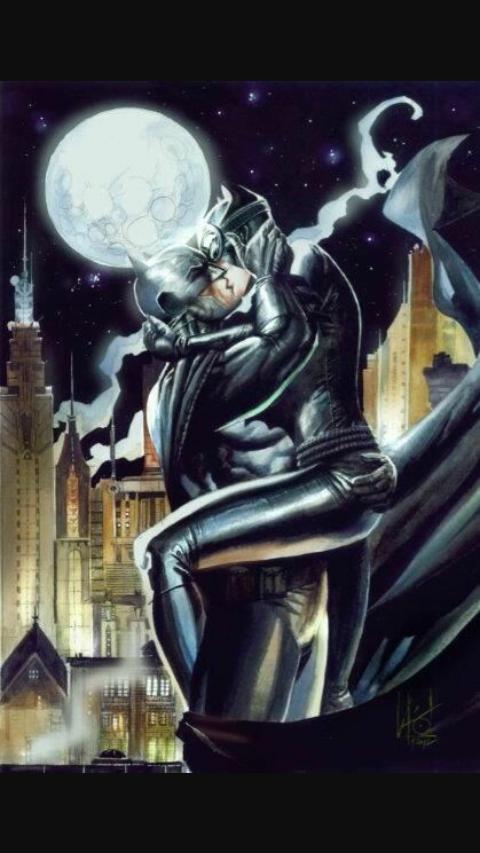 Catwoman Kiss Batman Images Free Download Playapkco