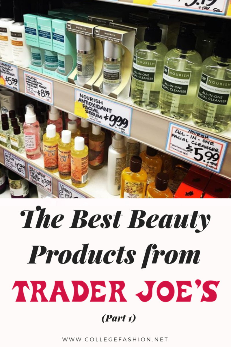 Trader Joe S Beauty Product Review The Best Beauty Items At Trader Joe S Trader Joes Beauty Items Beauty Care