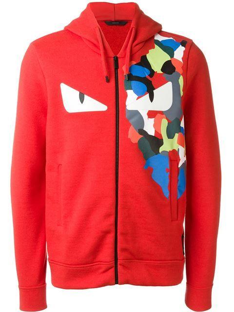 f0cba0a7baf5 FENDI Bag Bugs Zip Hoodie.  fendi  cloth  hoodie