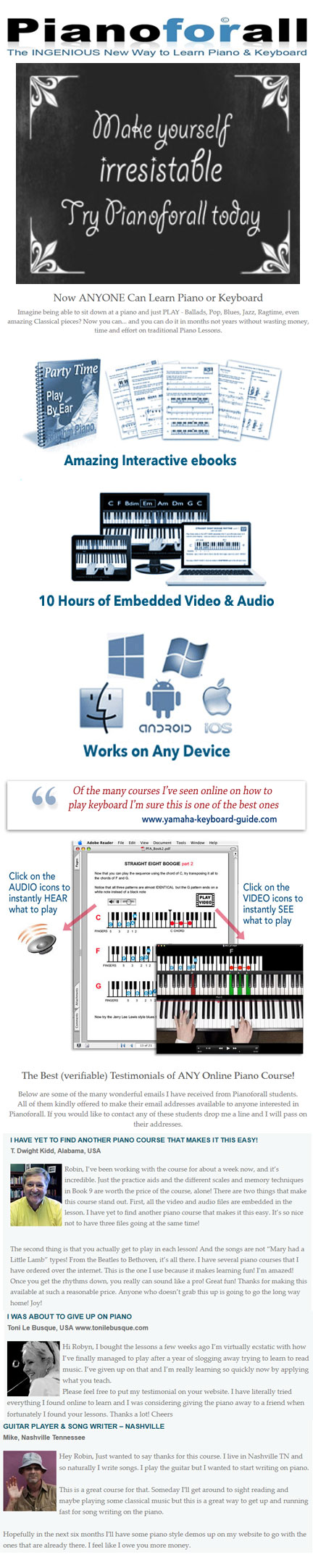 Piano Lessons For Beginners: Learn Piano Quickly And ...