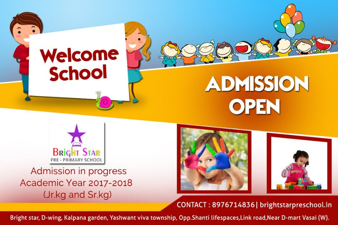 the admissions are in progress hurry and grab your kids admission