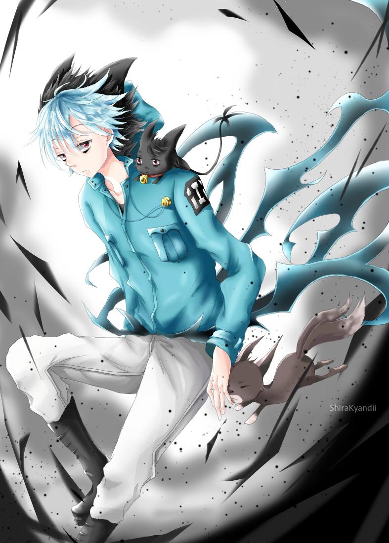 Servamp kuro by shirakyandii deviantart com on deviantart manga anime anime
