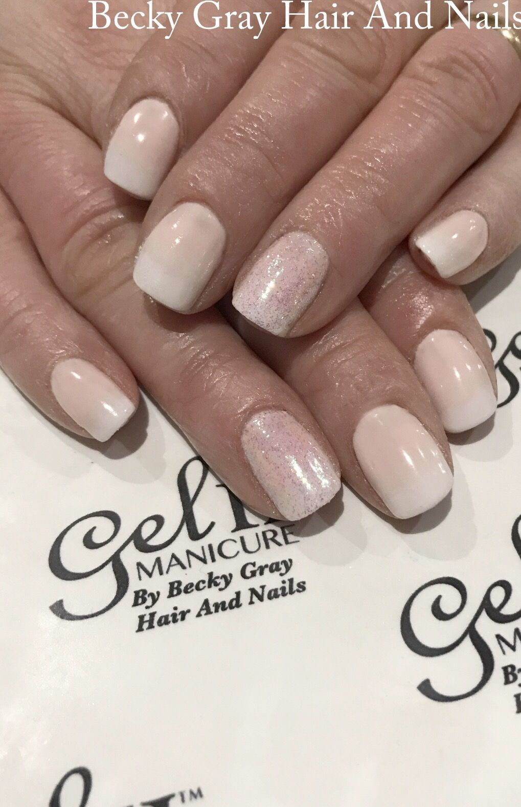#gelii #manicure nothing at all #gel_two #magpieglitter #magpiepearl #babyboomers #frenchombre #gelnails #showscratch #scratchmagazine