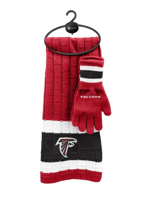 Atlanta Falcons Scarf & Glove Gift Set