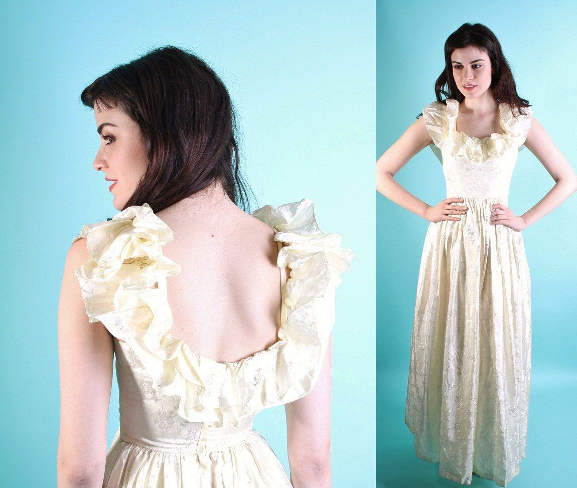 Wedding Dress / Vintage Wedding Dress / Dress / Short Wedding Dress ...