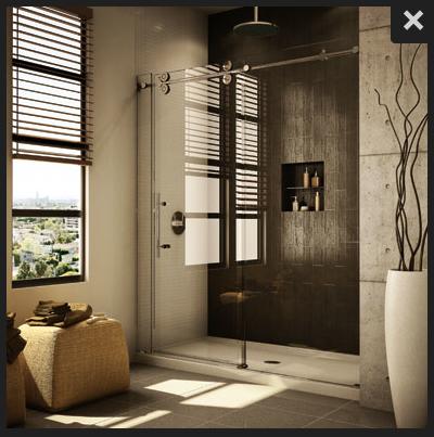 Stand Up Shower Sliding Doors.Standup Shower With Big Roller Glass Sliding Doors