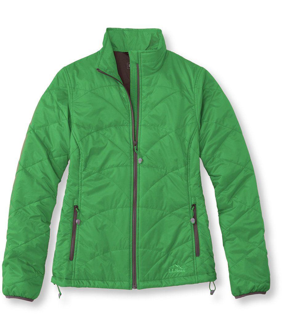Island Green PrimaLoft Packaway Jacket