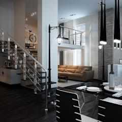 Salas de estilo minimalista por дизайн-бюро ARTTUNDRA