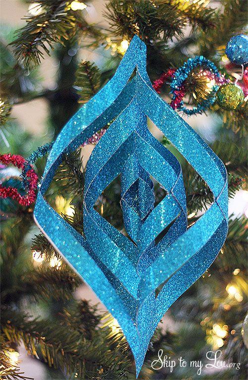 Michaelu0027s Dream Tree Challenge {how To Make Handmade Christmas Ornaments} |  Skip To My Lou
