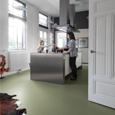Kwaliteitsvolle linoleum | Einrichten | Pinterest | Fußboden ...