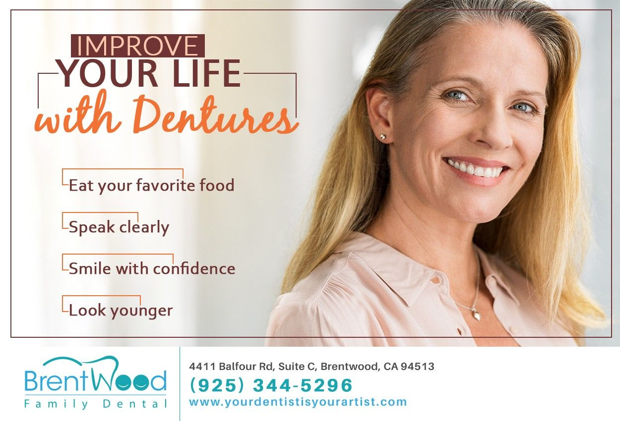 Tired of being embarrassed by missing teeth? Give us a