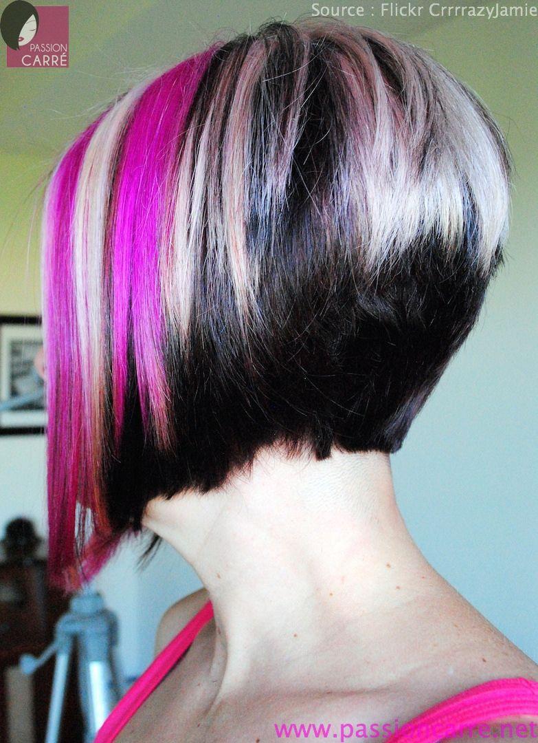 Le carré plongeant incroyable de Jamie ! - Passion Carré   Bob hairstyles, Inverted bob, Hair styles
