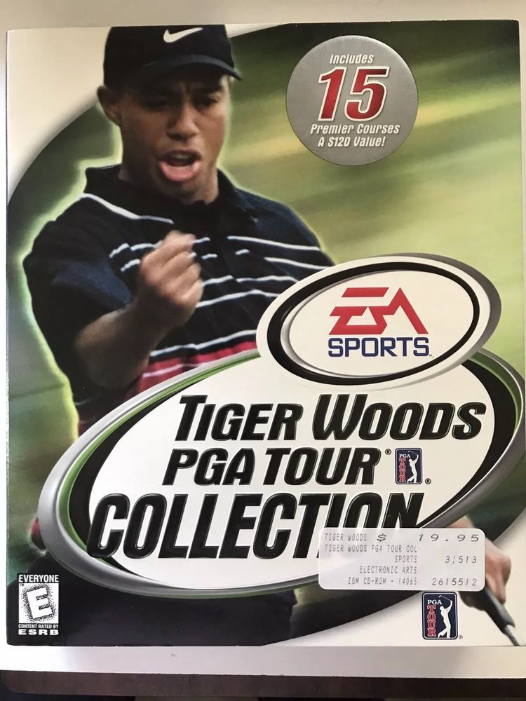 Tiger Woods PGA Tour Collection EA Sports 1999 PC Windows