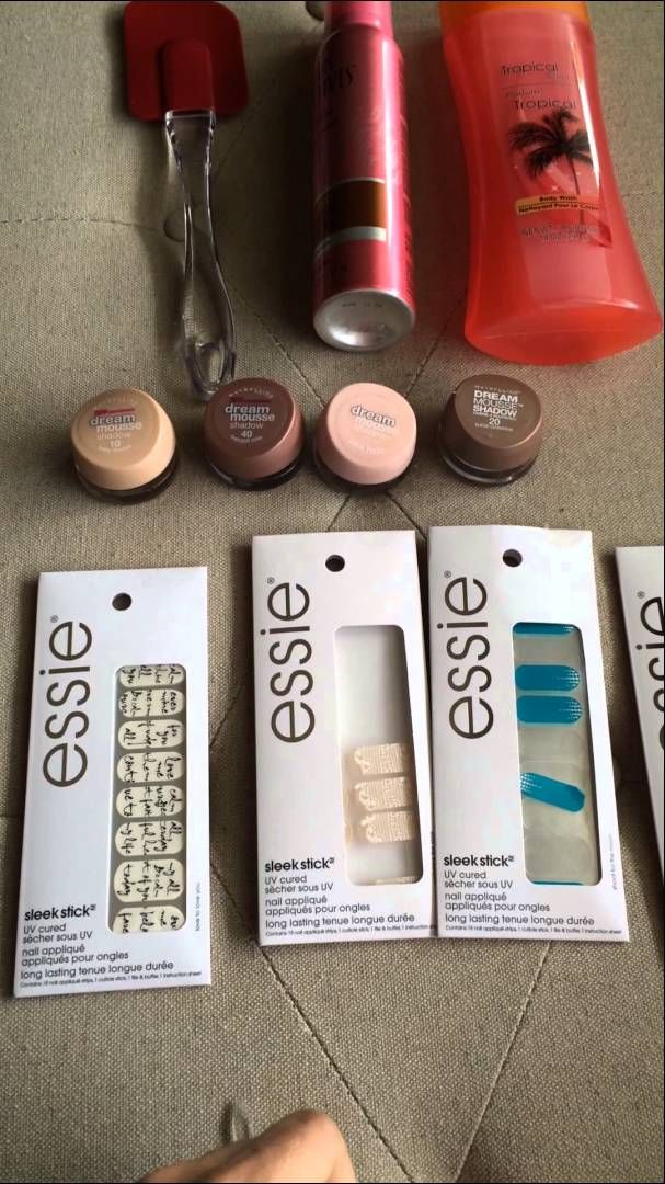 Dollar Tree product review (Essie, Maybelline, salon selectives, etc ...