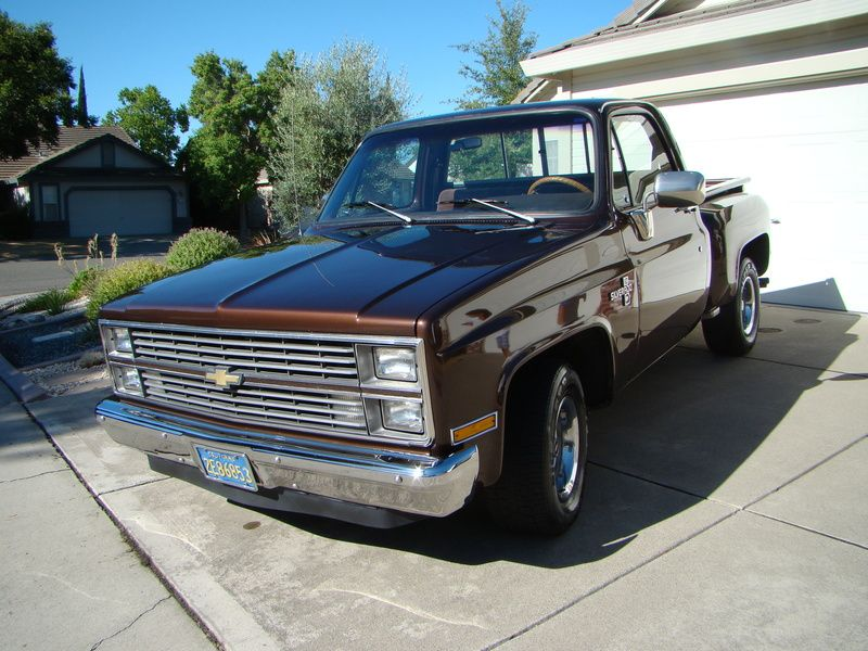 1983 Chevrolet C10 Silverado Stepside for sale by Owner - Antelope ...