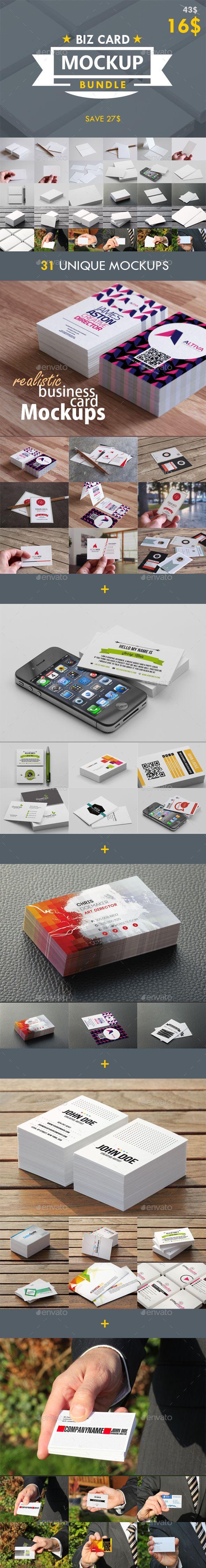 Business card mockup bundle pinterest mock up business cards business card mockup bundle business cards print reheart Images