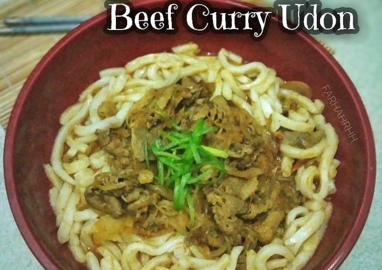 Resep Beef Curry Udon Ala Marugame Udon Resep Memasak