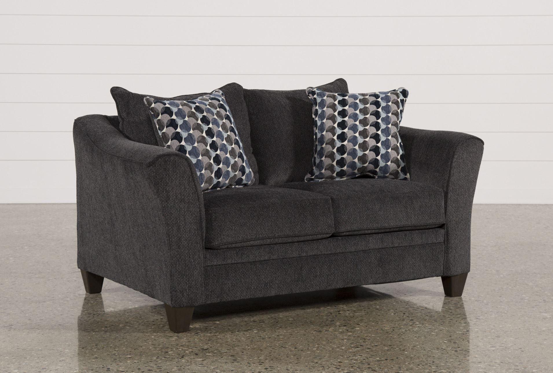 Astonishing Koltin Slate Loveseat Signature Palmores Pins Sofa Ibusinesslaw Wood Chair Design Ideas Ibusinesslaworg