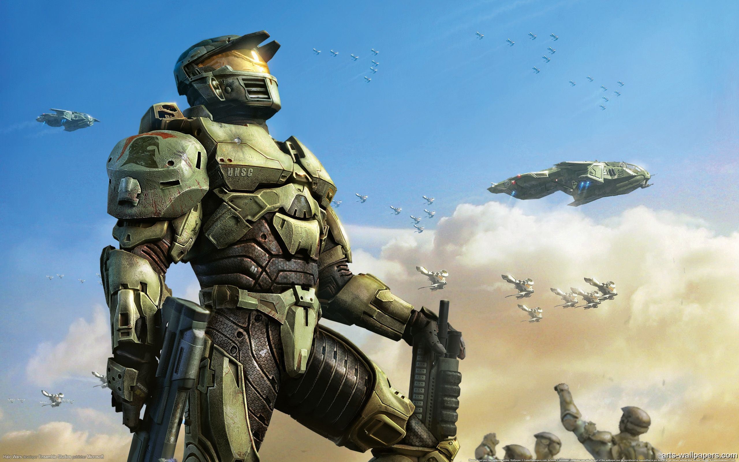 Halo Wars Unsc Spartan Pc Games Art Halo Backgrounds Background Images