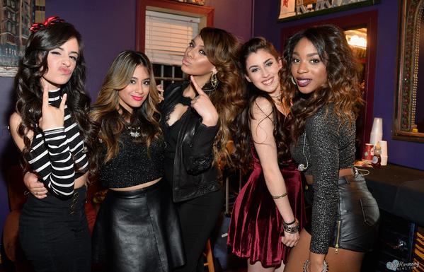Fifth Harmony-Karla Camila Cabello, Allyson (Ally) Brooke Hernandez, Dinah Jane Hansen, Lauren Michelle Jauregui, and Normani Kordei Hamilton