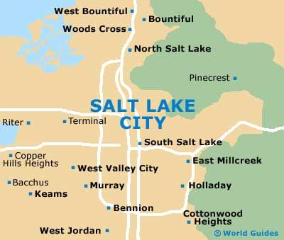 Salt Lake City Travel Guide and Tourist Information Salt Lake