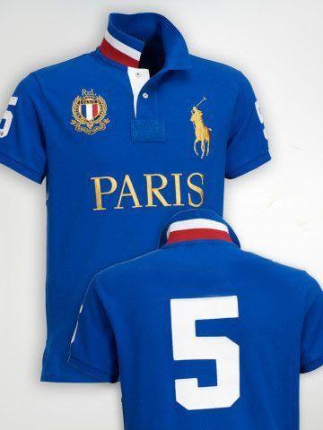 5632e3ec50249 Camisa Polo PARIS