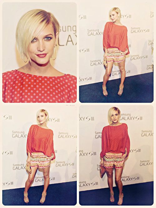 Ashlee Simpson Hair Samsung Galaxy S Pretty Outfits Celebrity Hairstyles