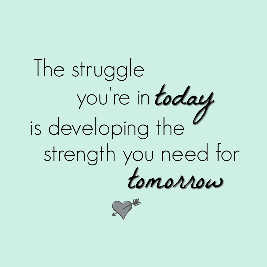 Developing Strength Motivational Quote: Great Inspirational Quotes From Footprints Of Inspiration