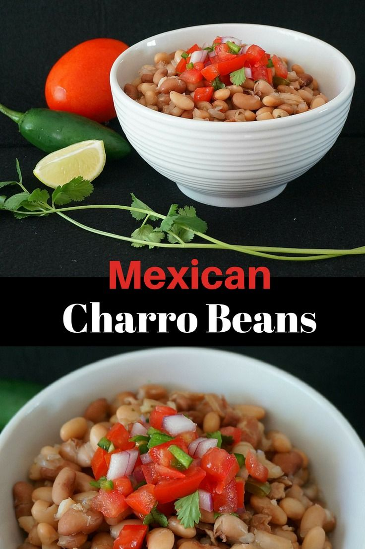 Charro Beans Recipe Diy food recipes, Diy easy recipes