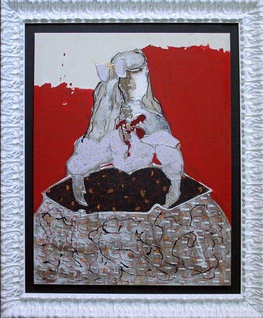 Cuadro moderno menina cuadros modernos decoracin moderna - Cuadro meninas moderno ...