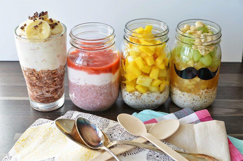 sarahs krisenherd healthy breakfast alle overnight oats. Black Bedroom Furniture Sets. Home Design Ideas