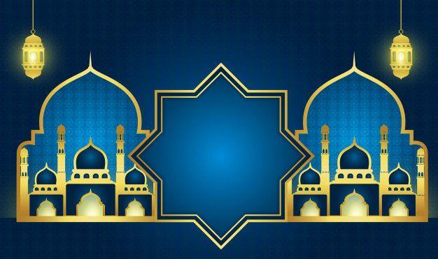 604 Gambar Ramadhan Terbaik Di 2020 Desain Seni Islamis Dan