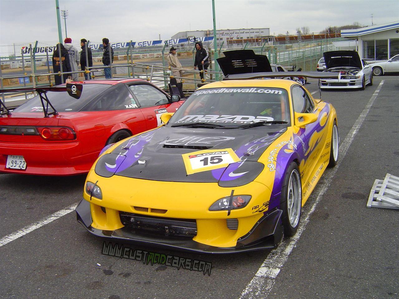 Mazda RX7 Mazda rx7, Modified cars, Sports car