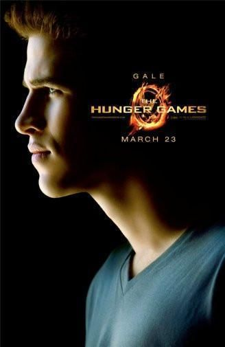 Hunger Games Gale Poster Standup 4inx6in