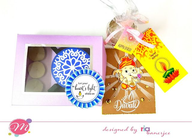 A Complete Diwali Gifting Solution By Ria Using Mudra Craft Stamps