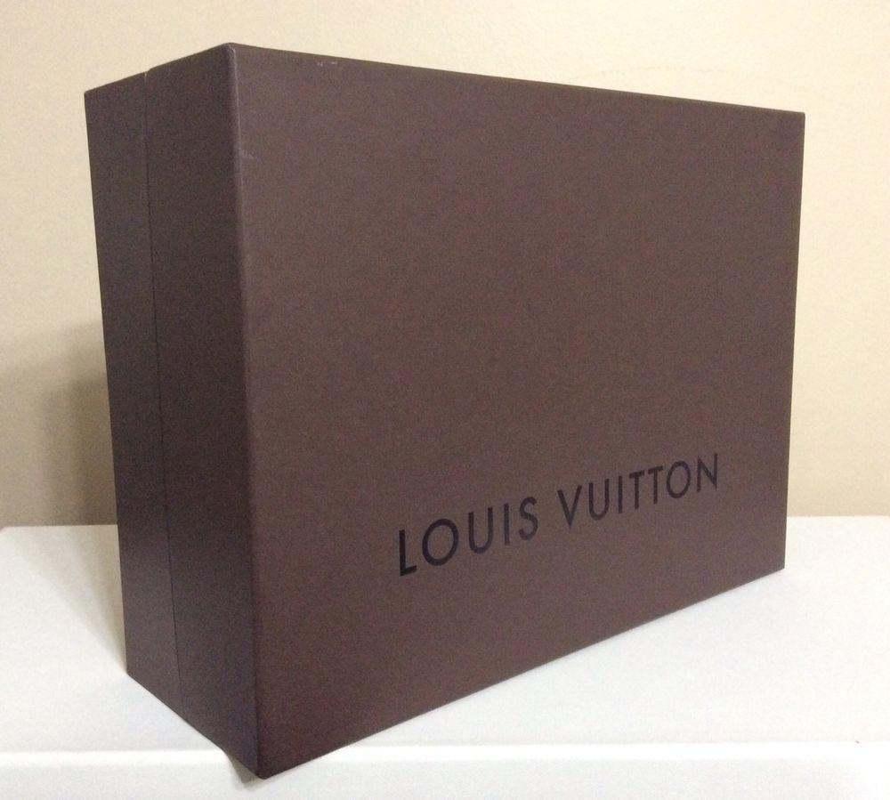 6304f3fd LOUIS VUITTON Brown Bag Empty Box 14