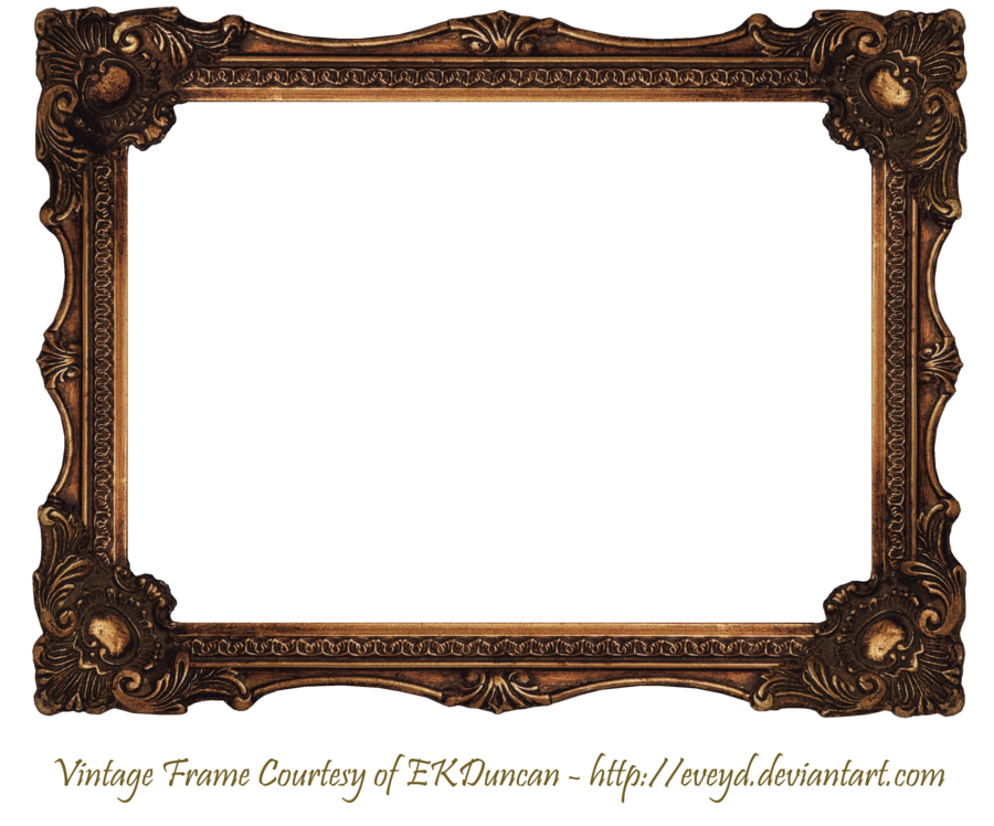 Elaborate wood scroll frame by ekduncan by eveyd for Types of mirror frames
